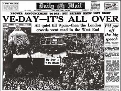 World War what? Half of young people have no idea what VE day ...